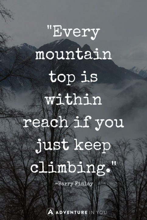 Top Quotes Adorable Best Mountain Quotes To Inspire The Adventure In You