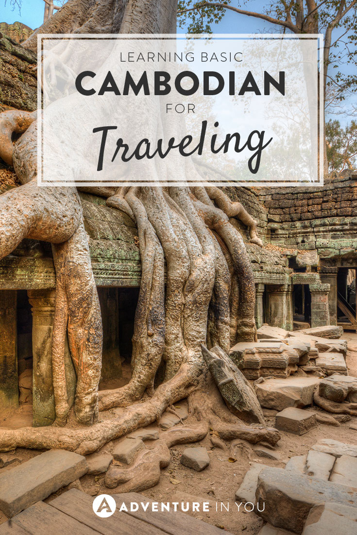 Want to learn a bit of Khmer for your trip to Cambodia? Here are a few basic words and phrases to help you get by!