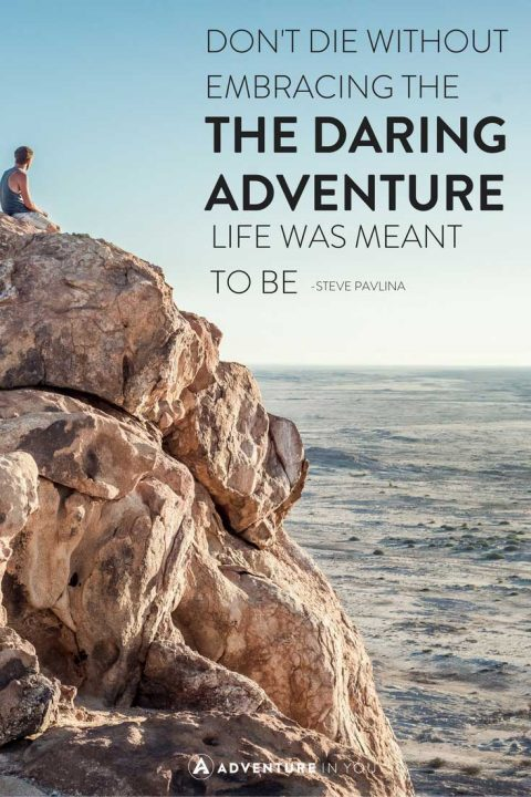Quotes On Adventure Endearing 20 Most Inspiring Adventure Quotes Of All Time