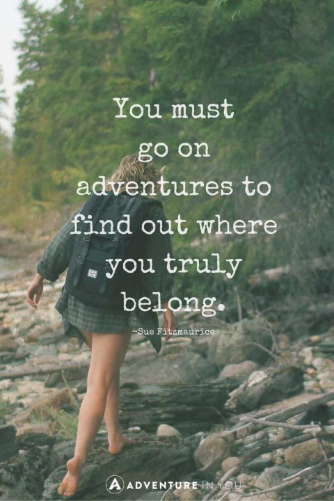 Quotes On Adventure Enchanting 20 Most Inspiring Adventure Quotes Of All Time