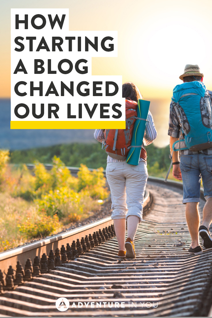 Don't know whether to take the plunge? Here's how starting a blog changed our lives!