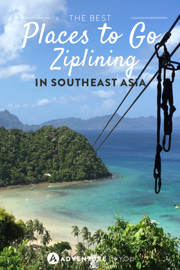 best places to go ziplining in asia