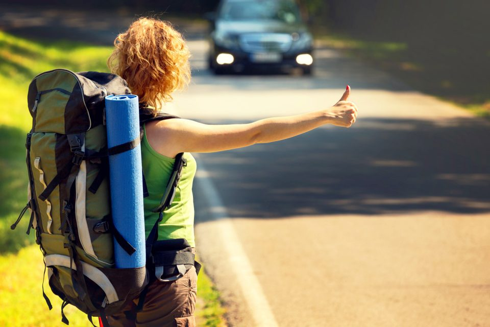 Image result for teen girl hitch hiking pictures