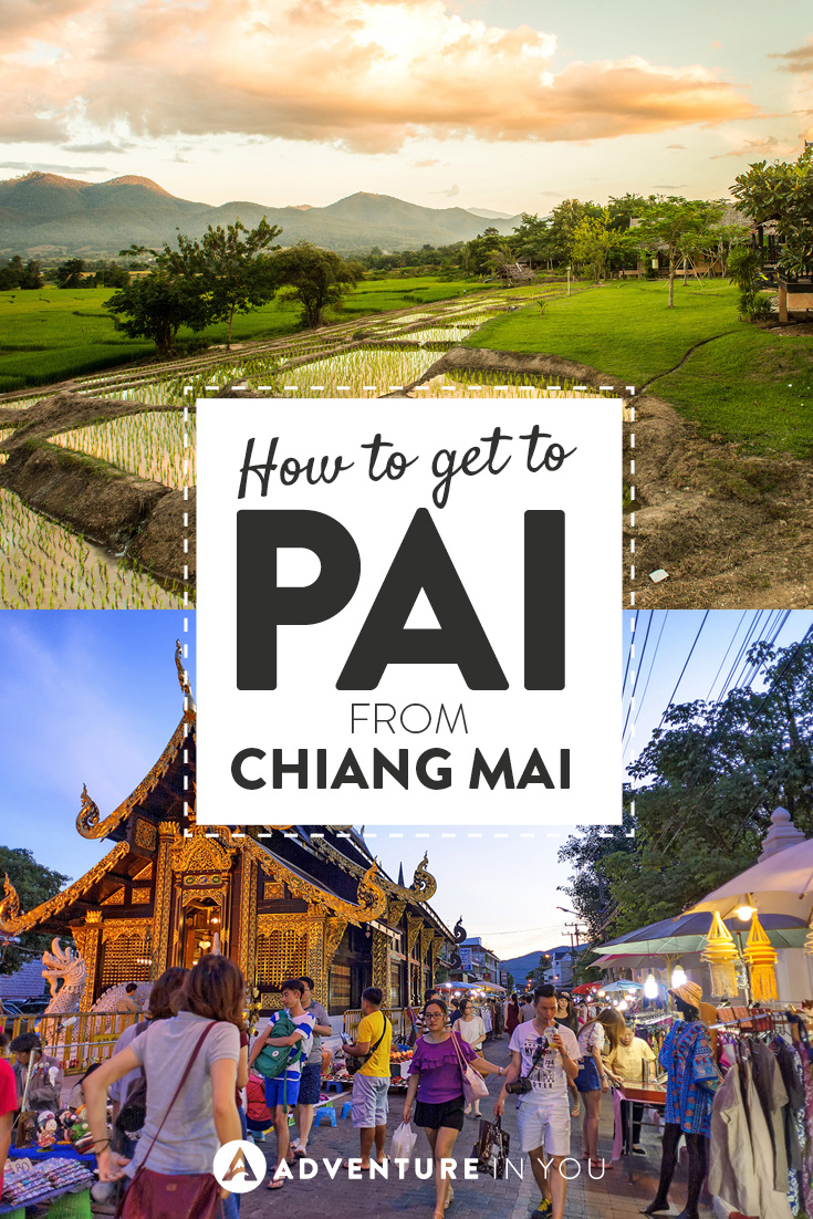 Unsure how to get to Pai from Chiang Mai? Here is our guide on how you can do it.