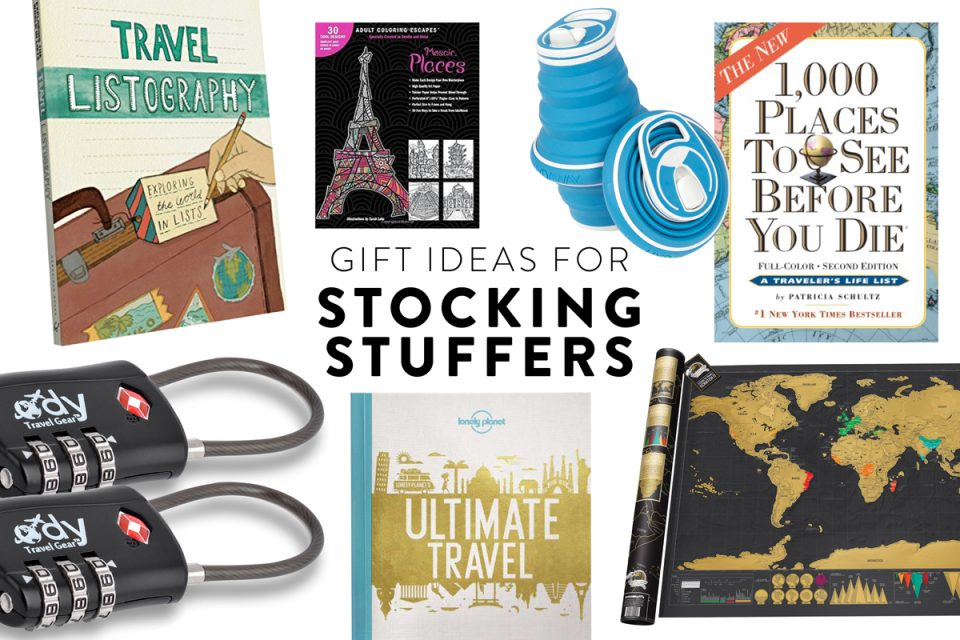 Christmas gift for travellers, stocking stuffers