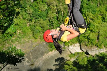 the plunge bohol