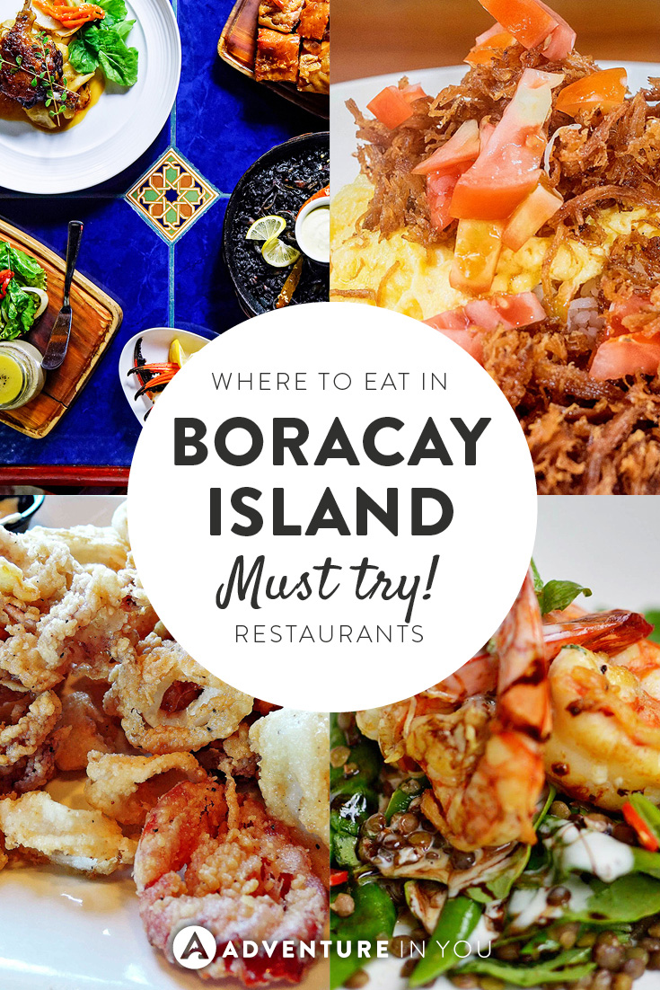 Looking for places to eat while in Boracay? Here is a list of all our favorite spots!