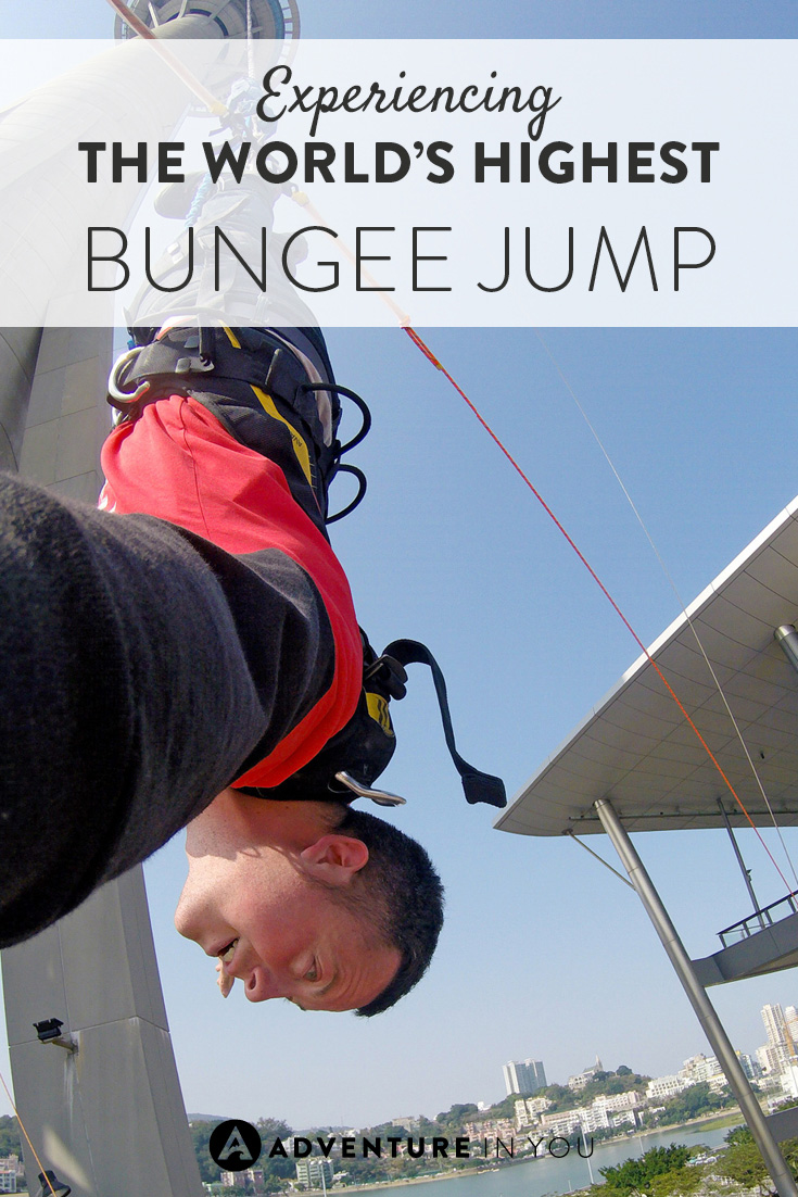 Want to face your fear of heights? How about jumping off the Macau Tower, the world's tallest bungee jump.