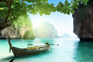 thailand islands boat
