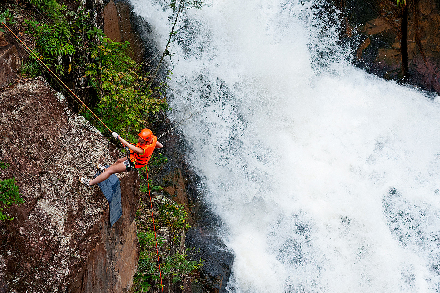 A Crazy Canyoning Adventure in Dalat, Vietnam