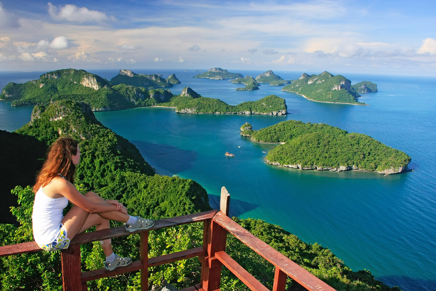 Best Ang Thong National Marine Park Tour Samui Boat Charter