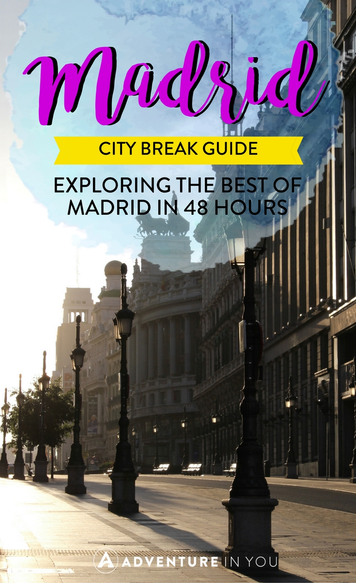 Madrid | Heading to Madrid Spain? Check out our Madrid city break guide highlighting the best things to see, do, and eat in this vibrant city. We also give you ideas on the best places to stay while in Madrid