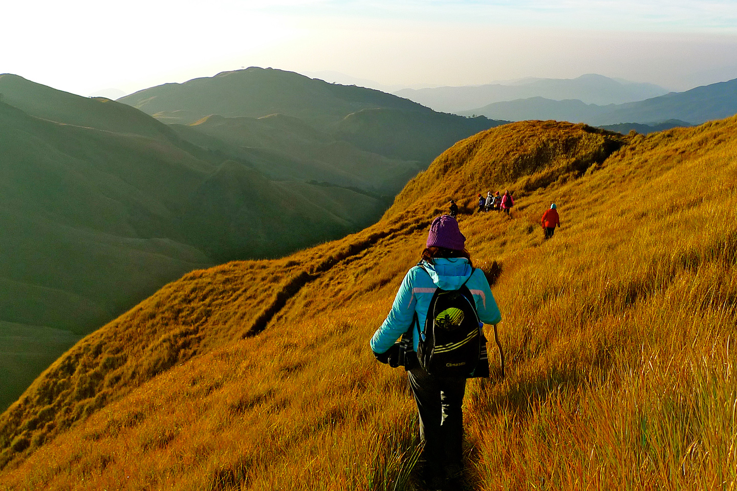 Long Trekking Adventure Up Mt Pulag Philippines