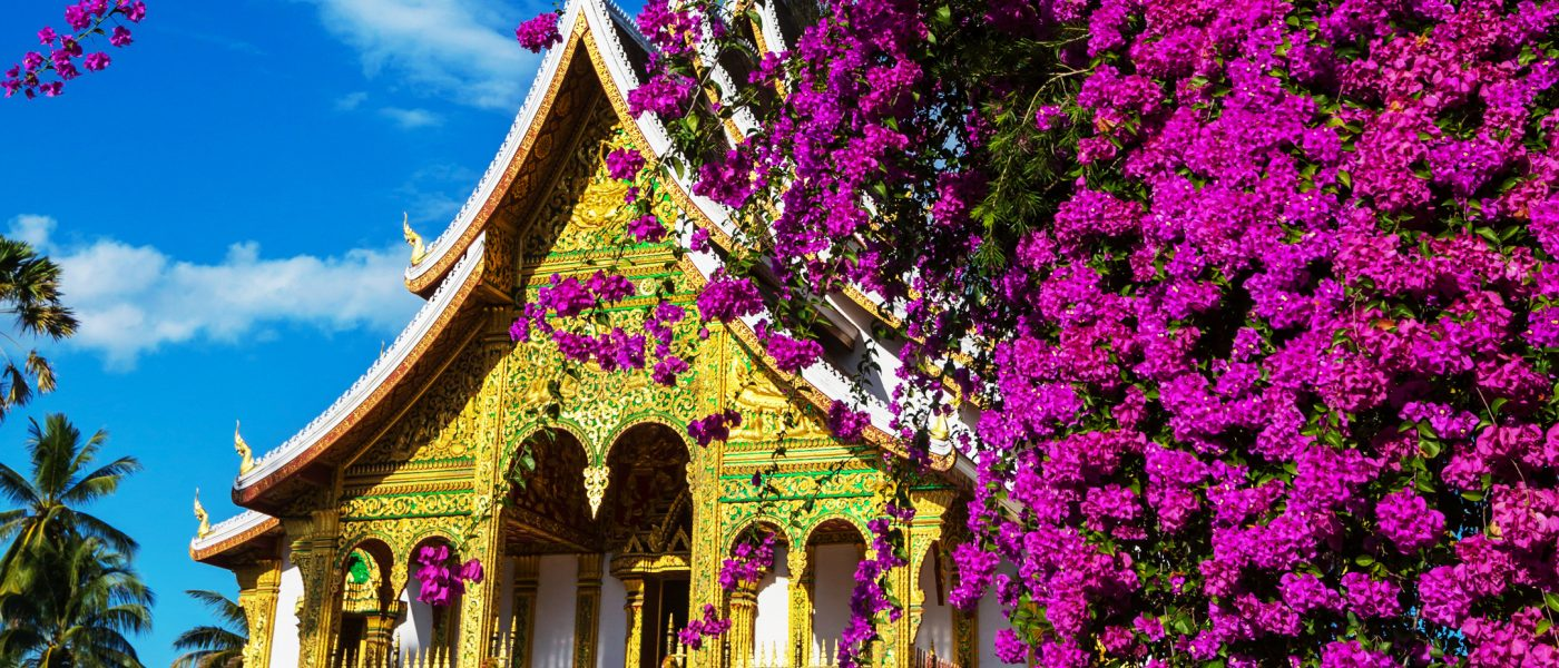 A temple in Luang Prabang, Thailand
