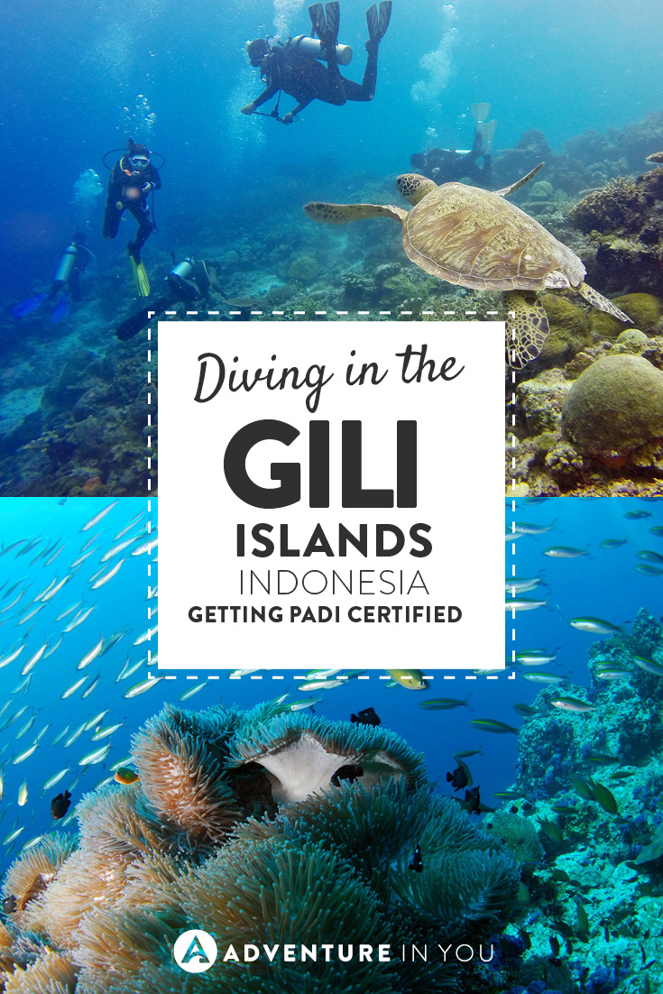 Interested to explore the underwaterworld? Our writers The Wanderlovers take on the Gili Islands to get their PADI Certification.