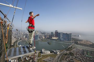 macau tower bungee