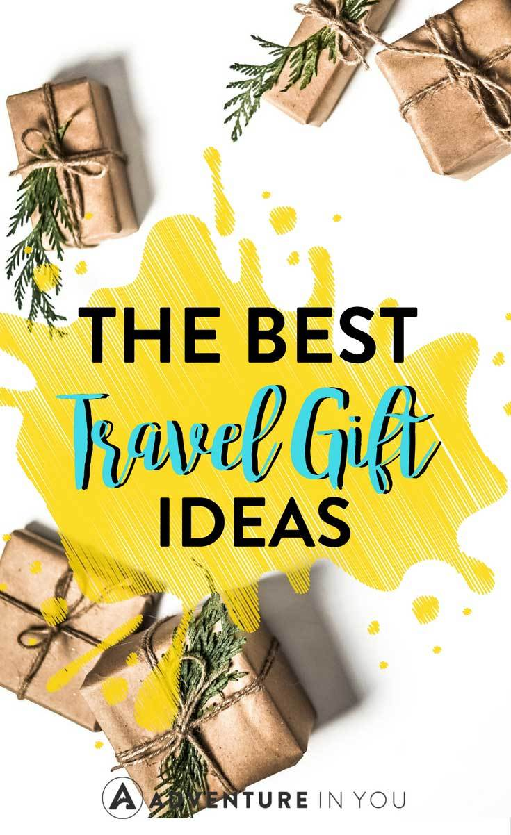 Travel Gifts | Looking for the best travel gift ideas? Here's our complete guide to buying presents for friends or family members that are constantly on the road. #gifts #christmas #presents