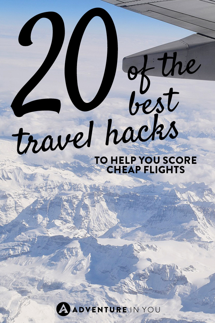 Wondering how some people keep scoring cheap flights? Here are 20 of our best travel hacks to help you get the best deal possible!