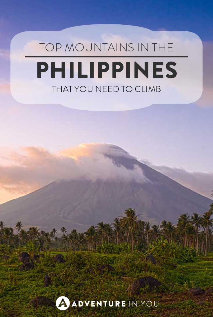 Philippines travel | Here are the top mountains in the Philippines that you can consider climbing during your next trip. From lush volcanoes to step mountains, the Philippines has a bit of everything for everyone.