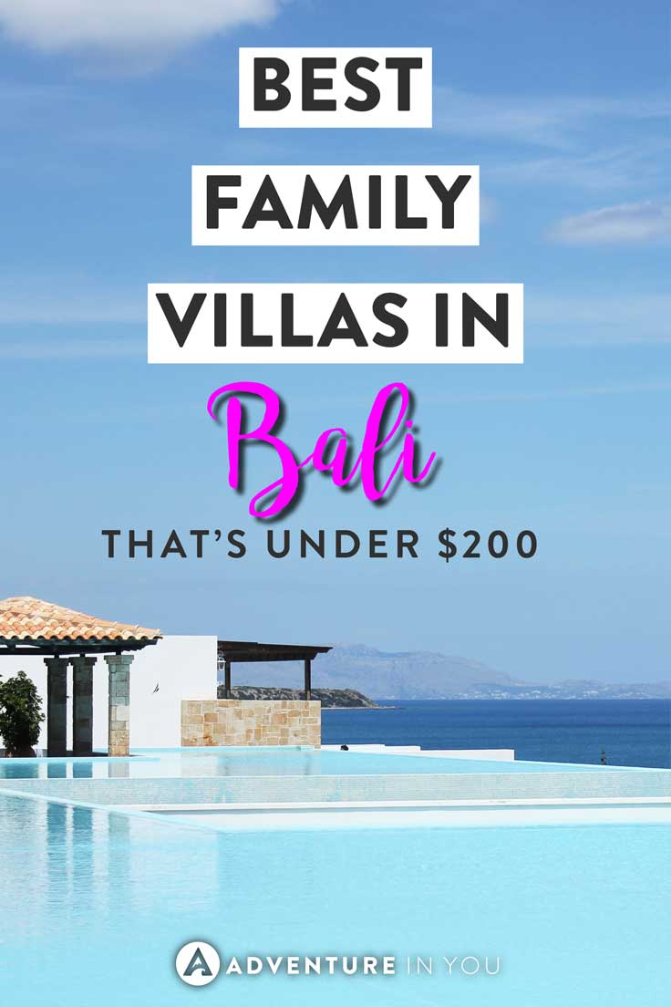 Family Villas Bali | Looking for great places to stay while in Bali? These family villas are not only super affordable but also well located to make sure you have an awesome stay in #bali