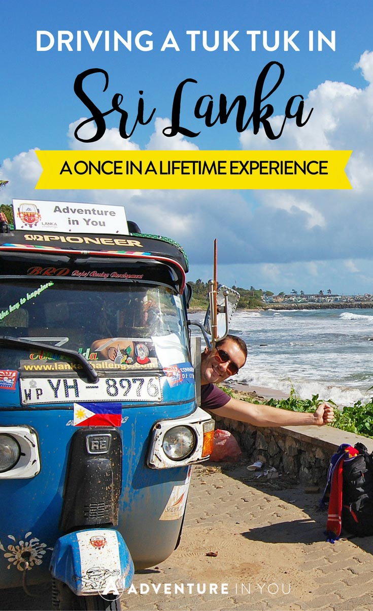 Sri Lanka Travel | Looking for a unique way to see Sri Lanka? The Lanka Challenge is an adventure of a lifetime where you get to drive a tuk tuk across some of the best parts of Sri Lanka. Think Amazing race and survivor, rolled up into one.