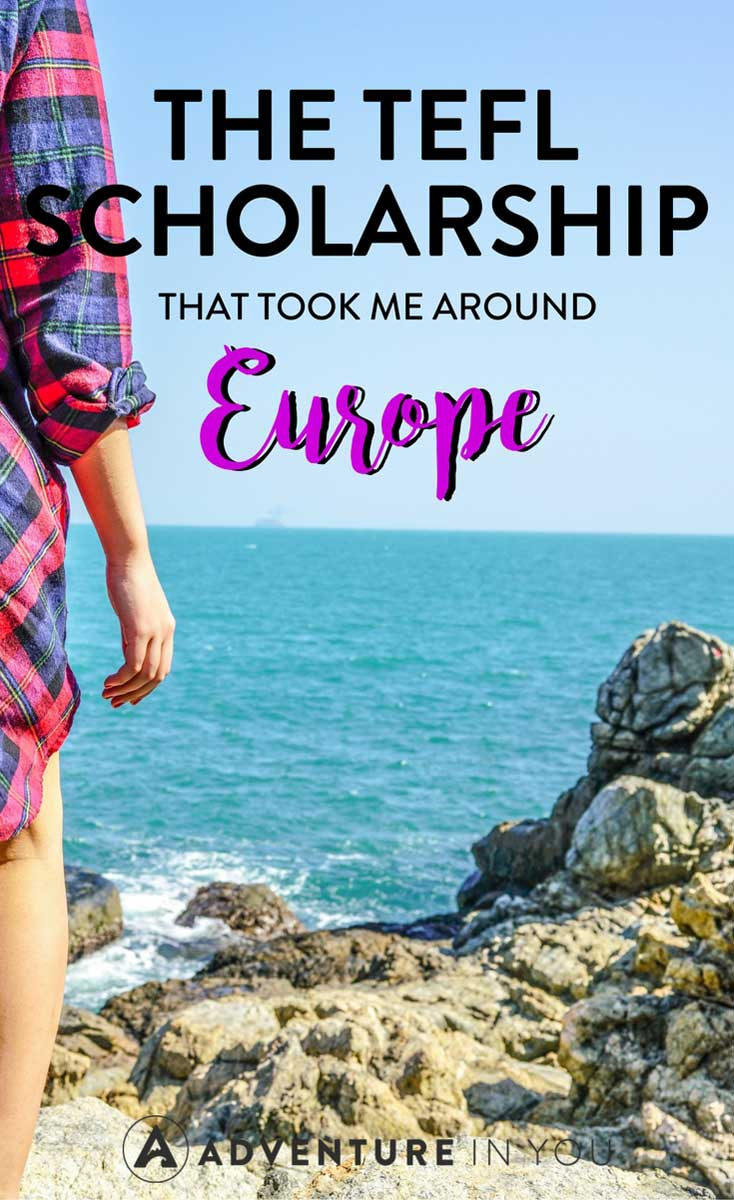 TEFL Certification | Looking for a way to travel around #europe? Find out how I got a scholarship so I could get a TEFL certification which allowed me to travel all over Europe.