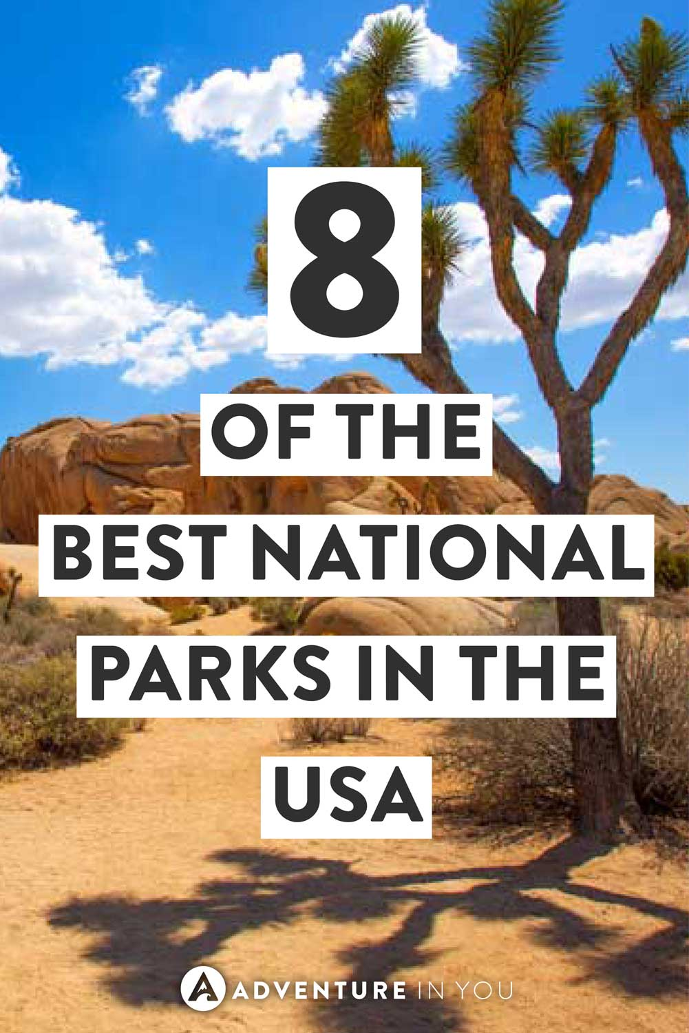 USA National Parks   Looking for the best national parks to visit? Here are 8 of the best ones that are worth adding to your bucket list! #usa #nationalparks