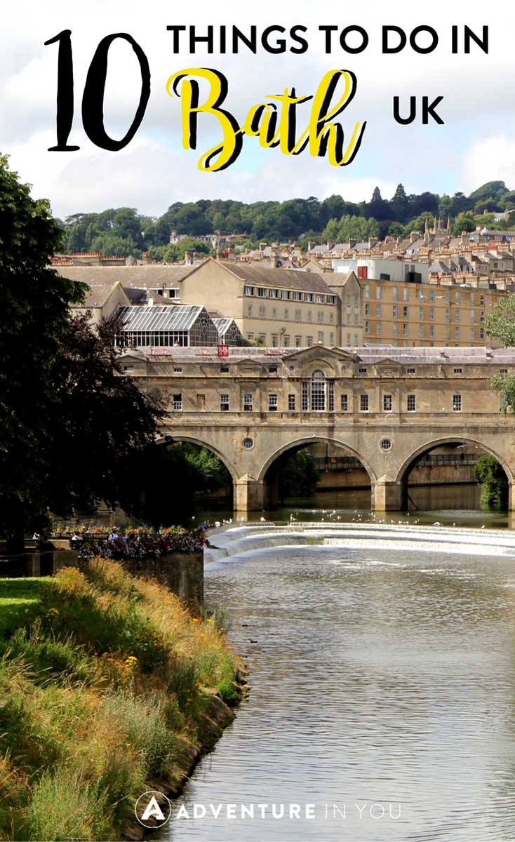 Bath UK | Planning a trip to Bath? Here are the best things to do in Bath, UK. This historical town is known for a variety of cultural landmarks and historic buildings. Check out my top recommendations. #bath #uk