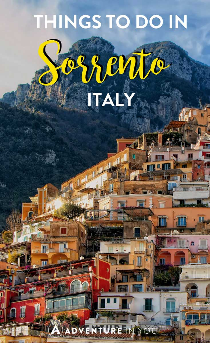 Sorrento Italy | Looking for the best things to do in Sorrento and the rest of the Amalfi Coast? Here are our top recommendations. #europe #sorrento